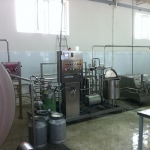 Milk processing plant 10.000ltr